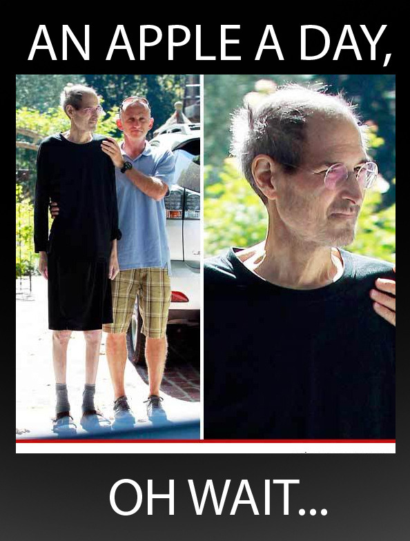 Steve Jobs is Doing Okay!