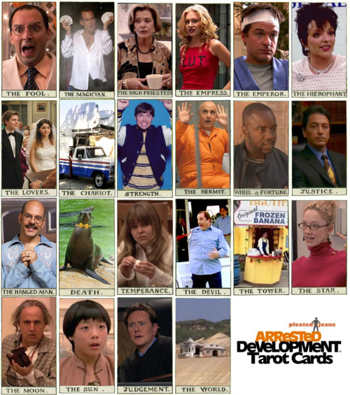 Arrested Development Tarot Cards