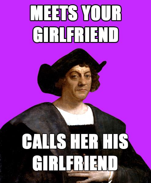 Douchebag Columbus