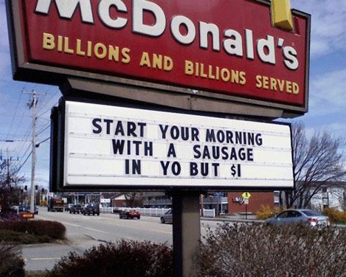 McDonalds New Breakfast Menu