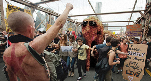 Muppets Call In Big Guns For Occupy Sesame St