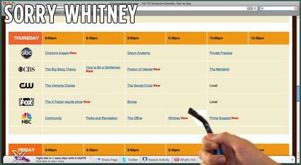 Sorry Whitney
