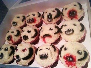 Wampa Cupcakes