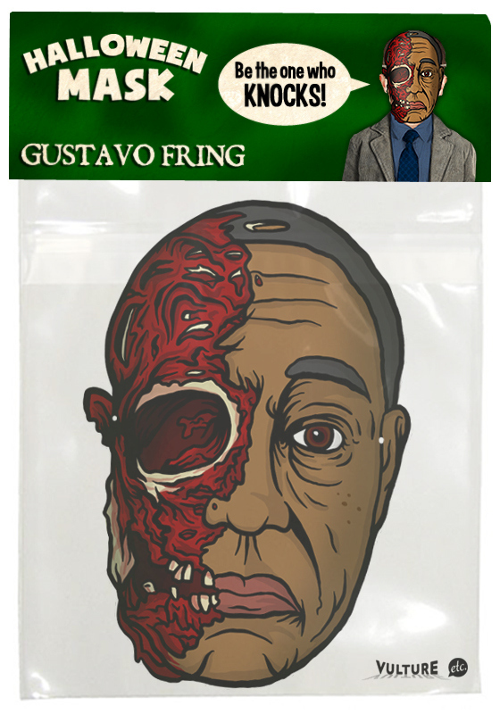 Breaking Bad Halloween Mask