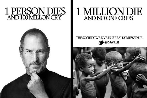 As 100 Million Cry for Steve Jobs...
