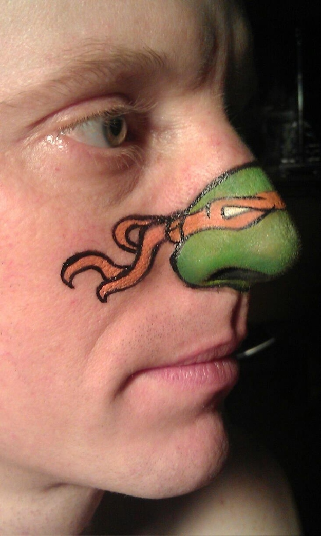 Ninja Nose, in Technicolor