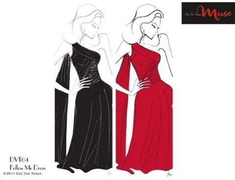 Dita Von Teese Launching Dress Line
