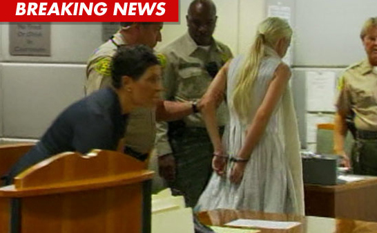 BREAKING: Lindsay Lohan Probation REVOKED, Handcuffed in Court!