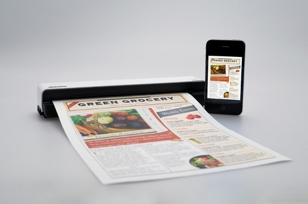 Doxie Go Makes Any iOS Device a Portable Scanner