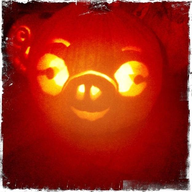 Angry Birds Pig Pumpkin