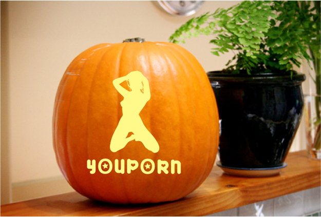 Porn-O-Lantern Stencils: Create Your Own Pervy Pumpkin!