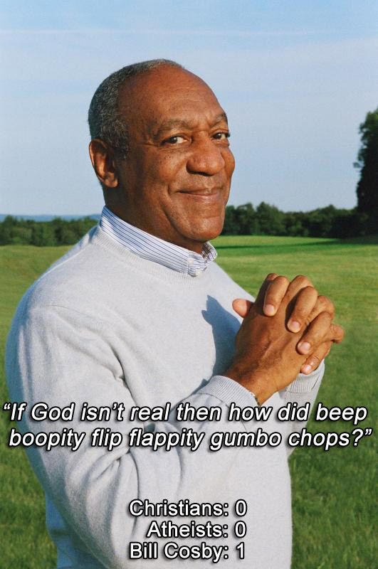 Bill Cosby Vs. Religion