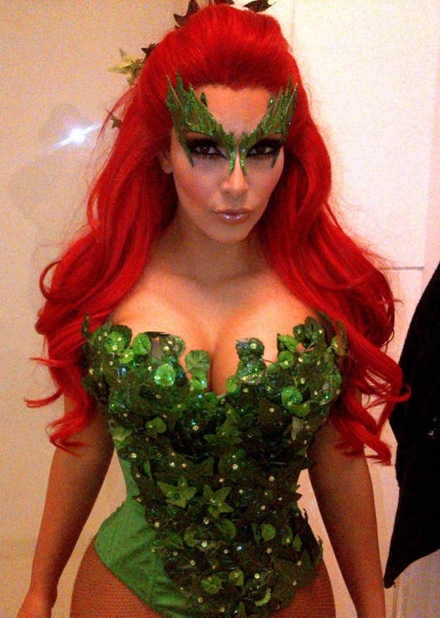 Kim Kardashian's Halloween Costume