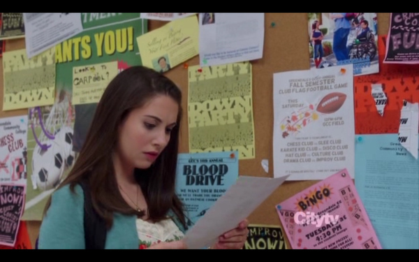 Community (season 3 Episode 2) Easter Egg