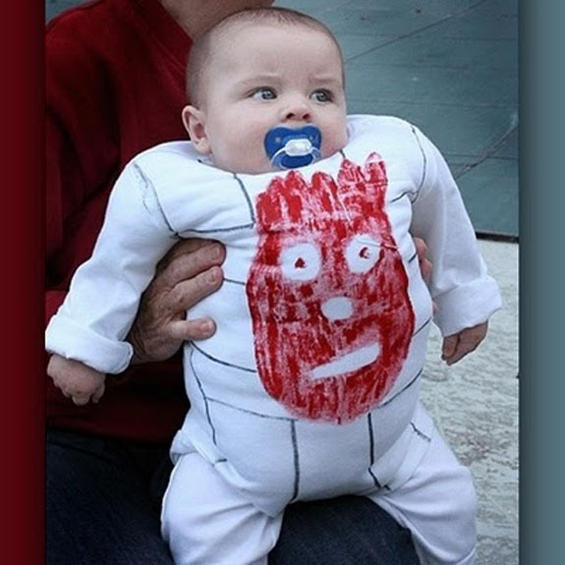'Cast Away' Wilson Baby Halloween Costume!