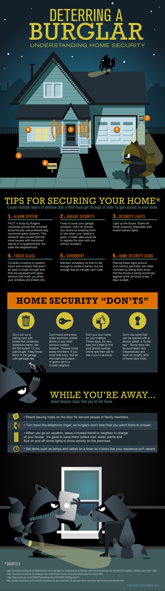 How to Deter a Burglar [Infographic]