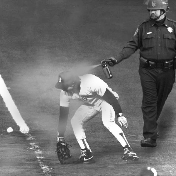 Red Sox Bill Buckner Was Set Up by Pepper Spray Cop!