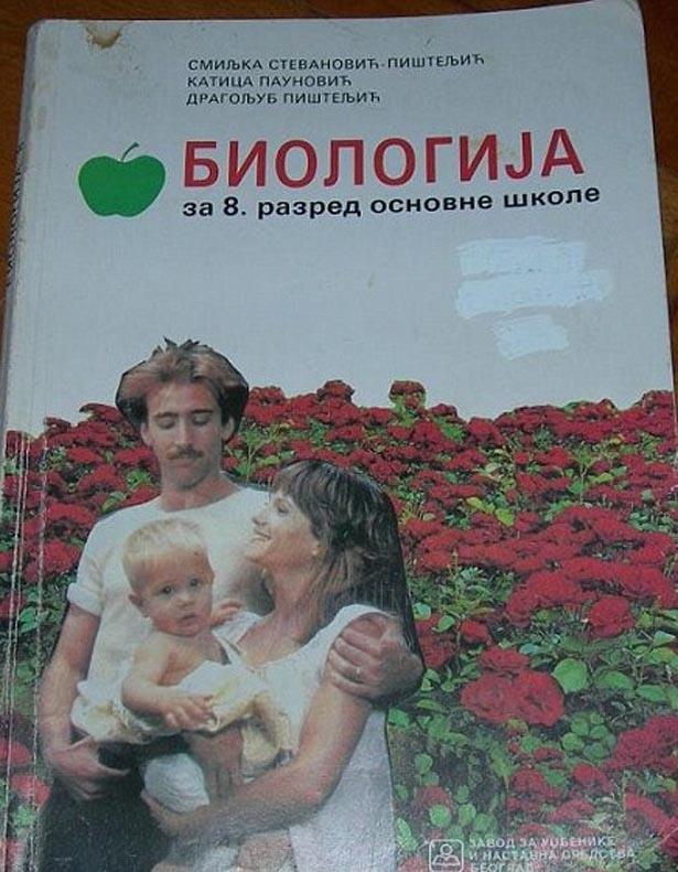 Nic Cage Shows Up On Serbian School Textbook