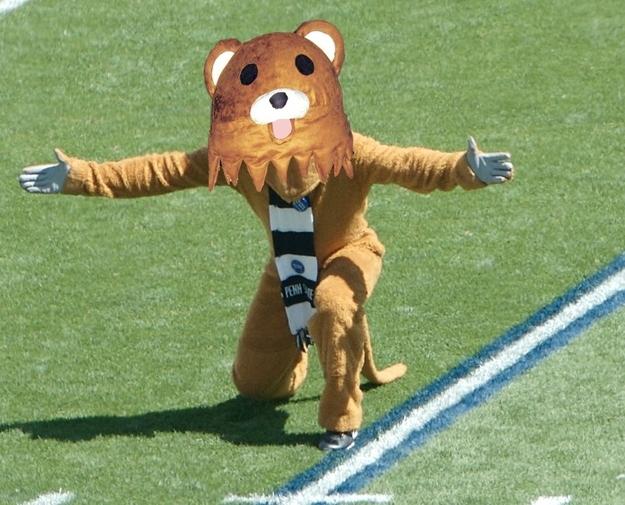 Meet Penn State's New Mascot, The Nittany Pedo Bear