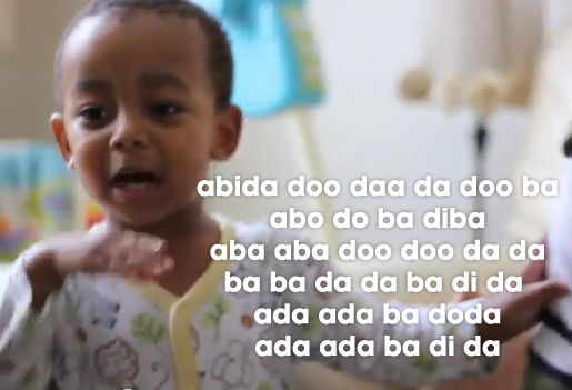 2 Years Old Rapper Lyrics !