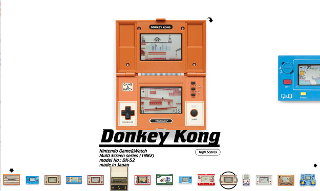 Online Archive of Handheld Video Games...