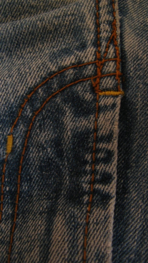 Jesus Found in the Crotch of Jeans
