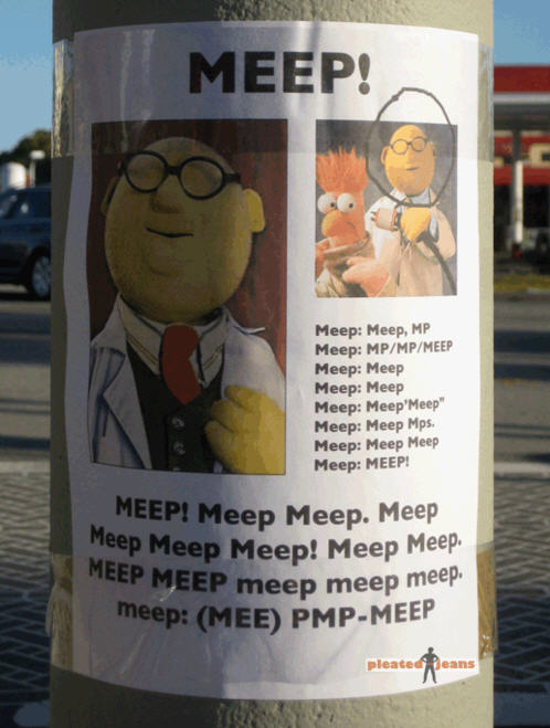 Muppet Missing Poster