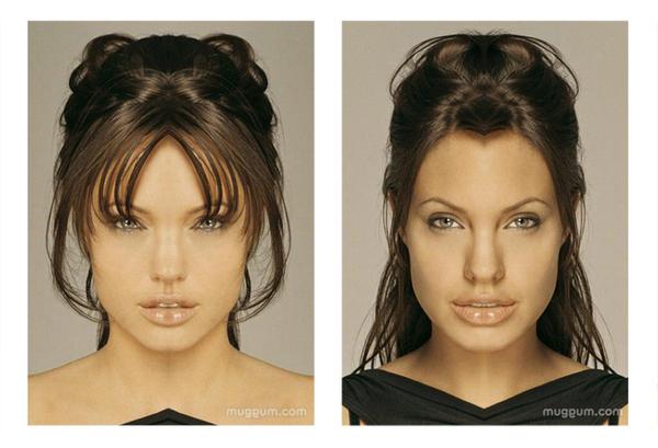 FOUND! Angelina Jolie's EVIL TWIN!
