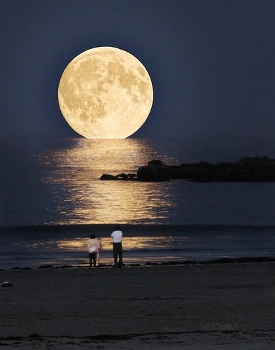There's a Full Moon Tonight. Not As Big As This!