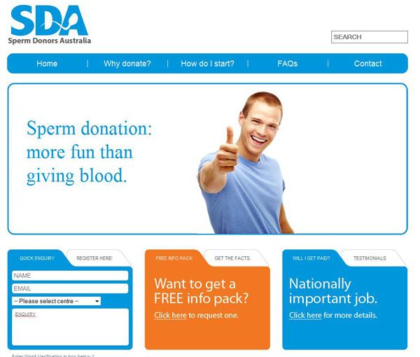 Sperm Donor Ad Campaign