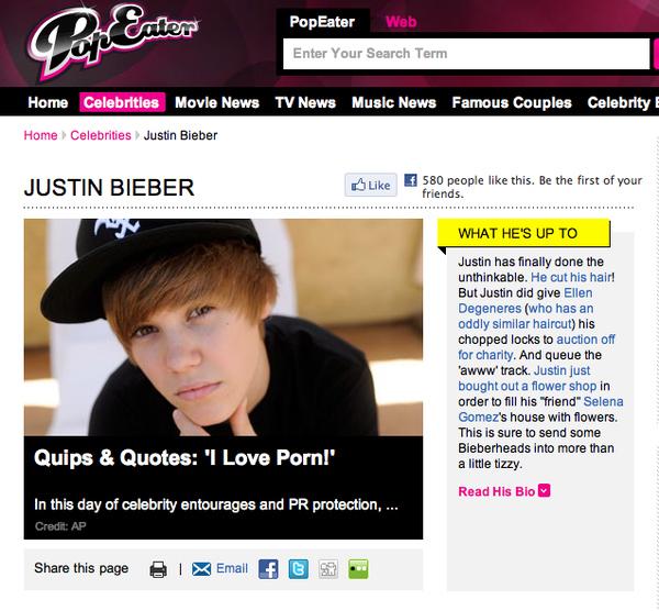 Justin Bieber's Shocking Revelation!
