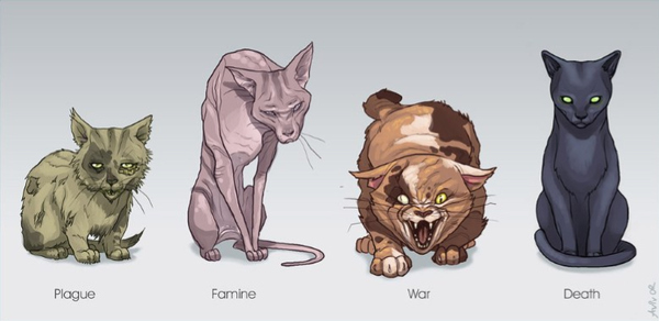Four Cats of the Apocalypse