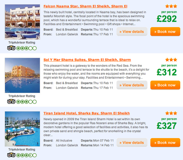 Cheap Vacation? Try Egypt