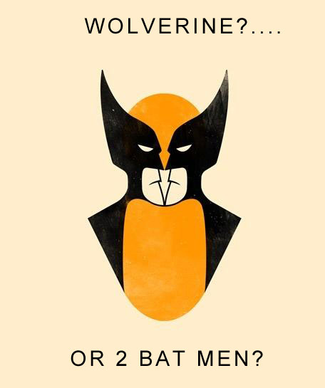 Wolverine... Or Two Batmen?