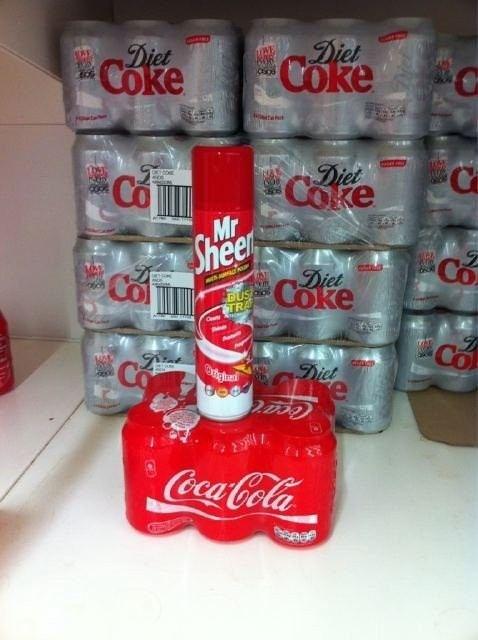 Mr. Sheen's On the Coke Again