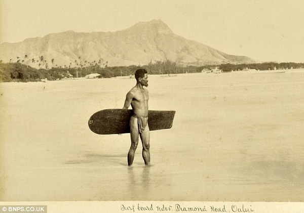 This is the First Ever Known Picture of a Surfer