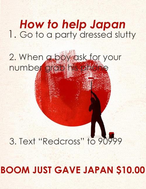 How Ladies Can Help Japan