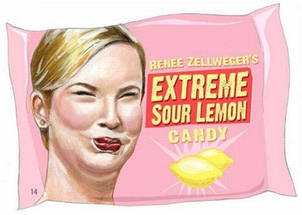 Renee Zellweger Sour Lemon