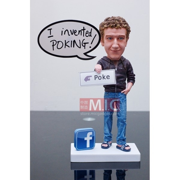 Mark Zuckerberg Doll Comes With Pokes And Likes