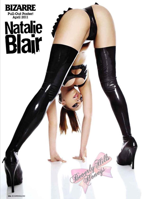 Natalie Blair Bizarre April 2011