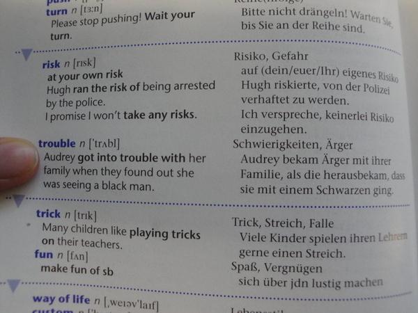 Racist Vocabulary Book