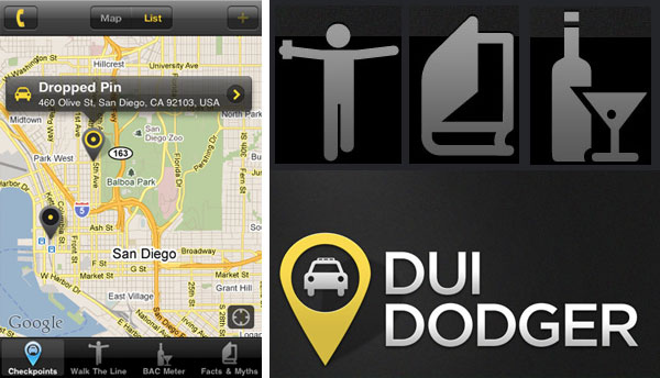 DUI Dodger App Helps You Drink...and Drive?