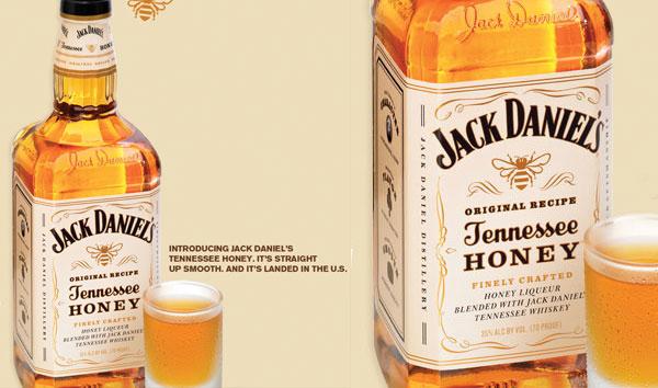 Jack Daniel's Honey Flavored Whiskey