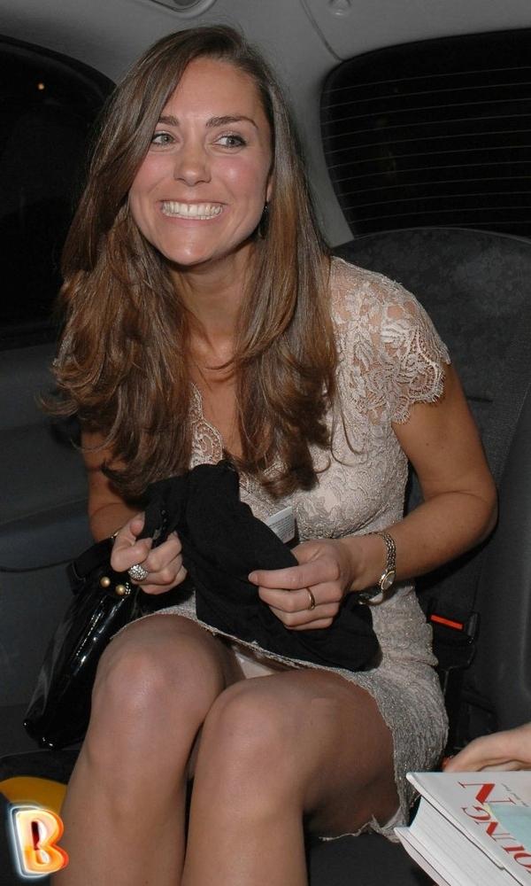 Rare Kate Middleton Up Skirt