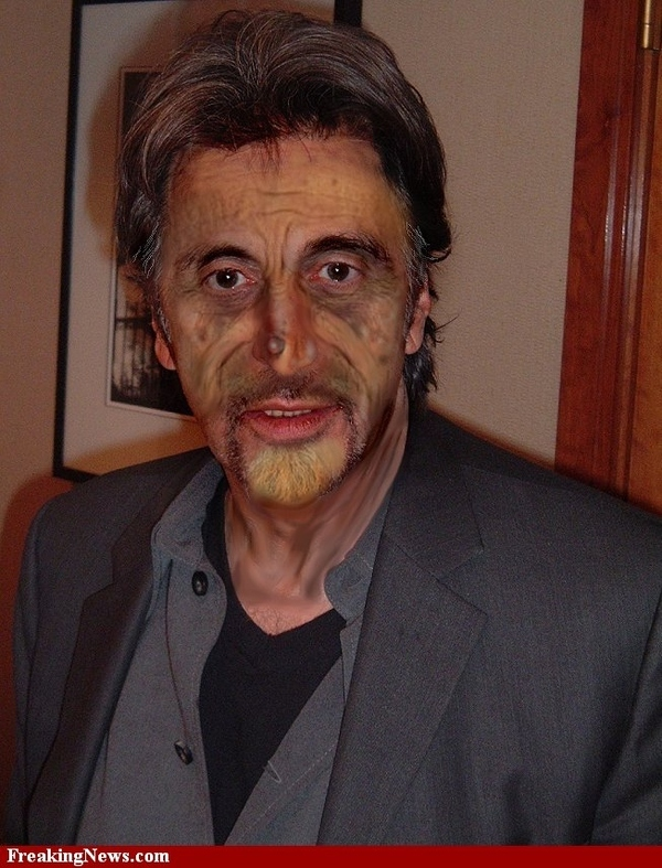 The Creepiest Al Pacino's Photo