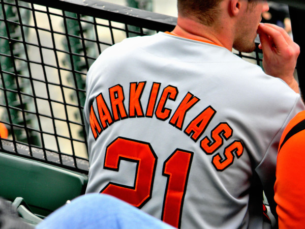 Interesting Baltimore Orioles OF Nick Markakis Jersey