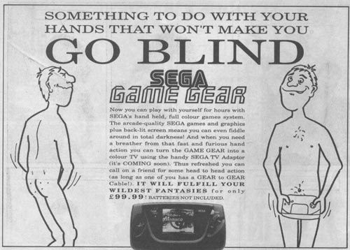 Hilarious Vintage Video Game Ad