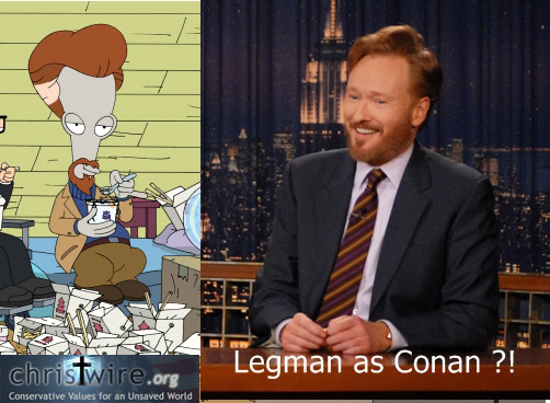 "American Dad's ""Legman"", Looks Like Connan"