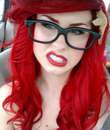 Hipster Ariel is Real