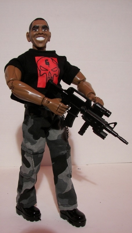 Obama Seal Team 6 Action Figure